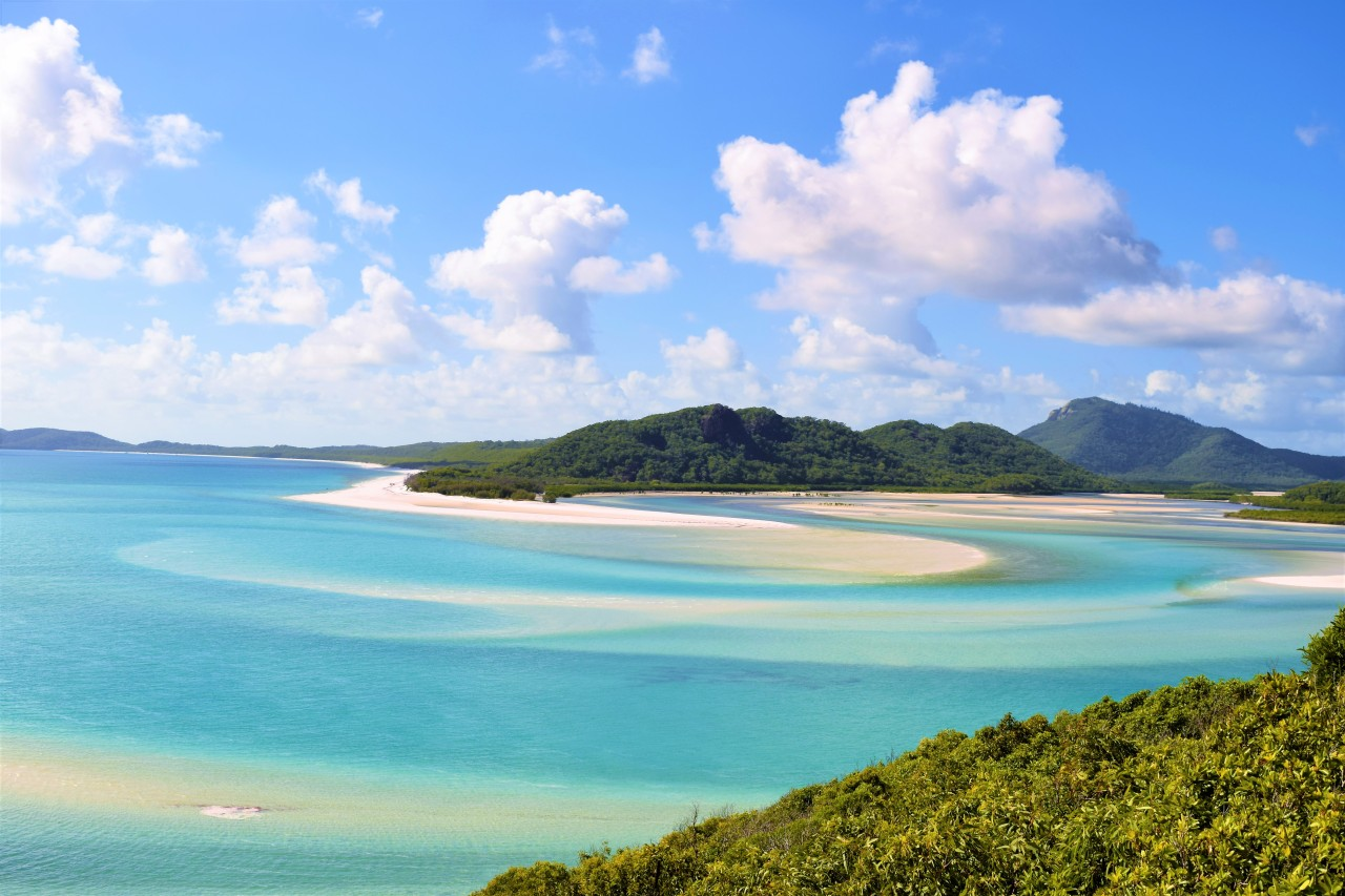 Revisiting the Whitsunday Islands:  Older, fatter, and possibly wiser.