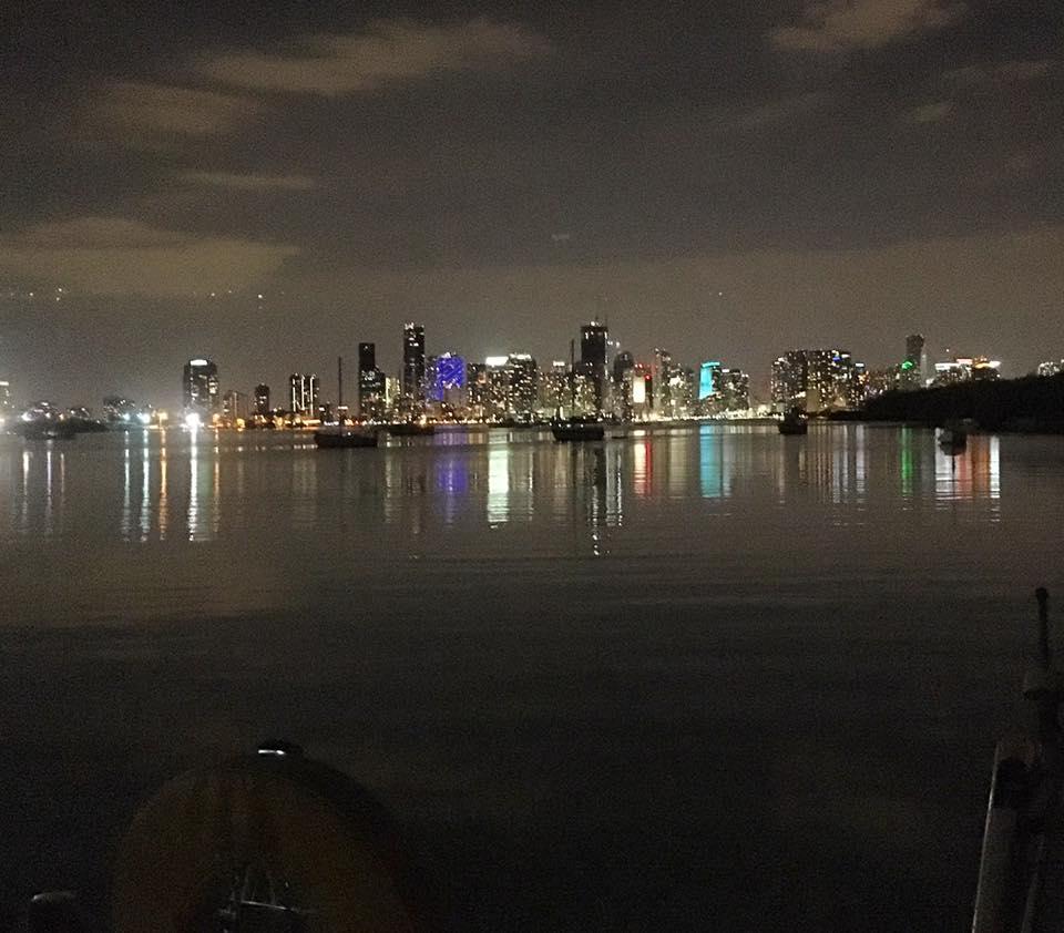 dinghy trip