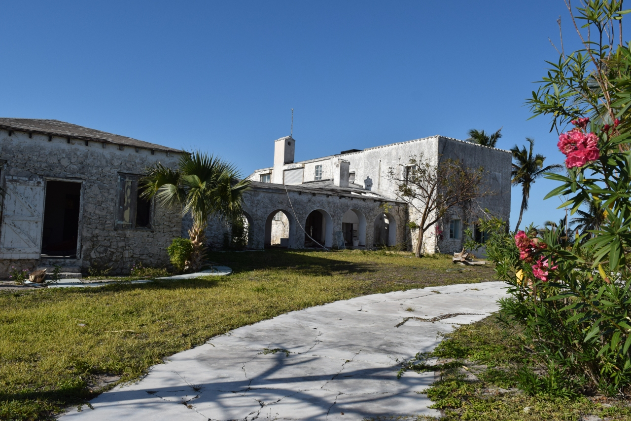 The Mysterious Abandoned Mansion at Bird Cay