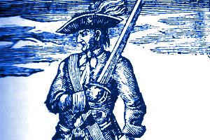 Jack Rackham. Photo taken from http://www.bahamas4kids.com/famous_pirates.html