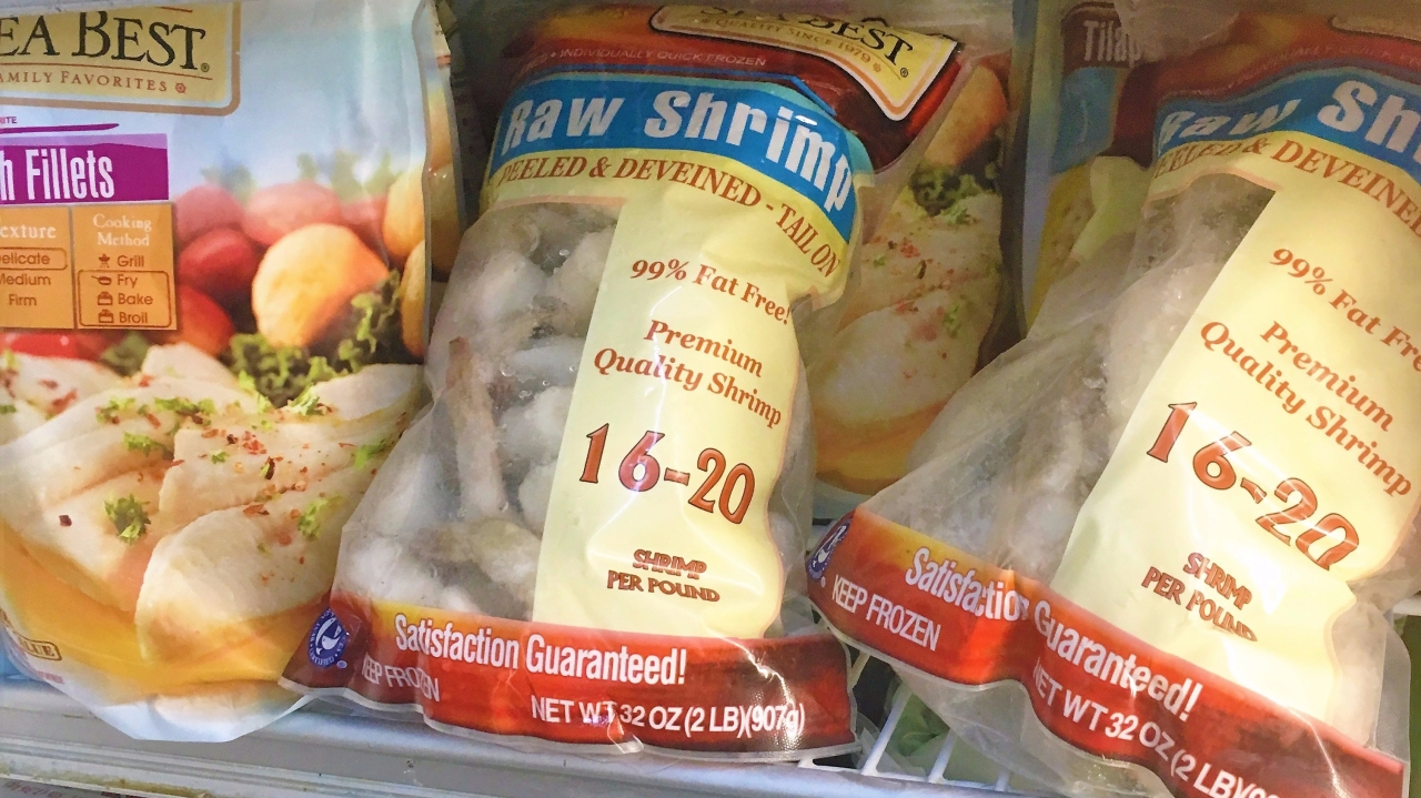 $90 dollar shrimp or how not to shop in the Bahamas